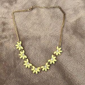 J crew floral necklace